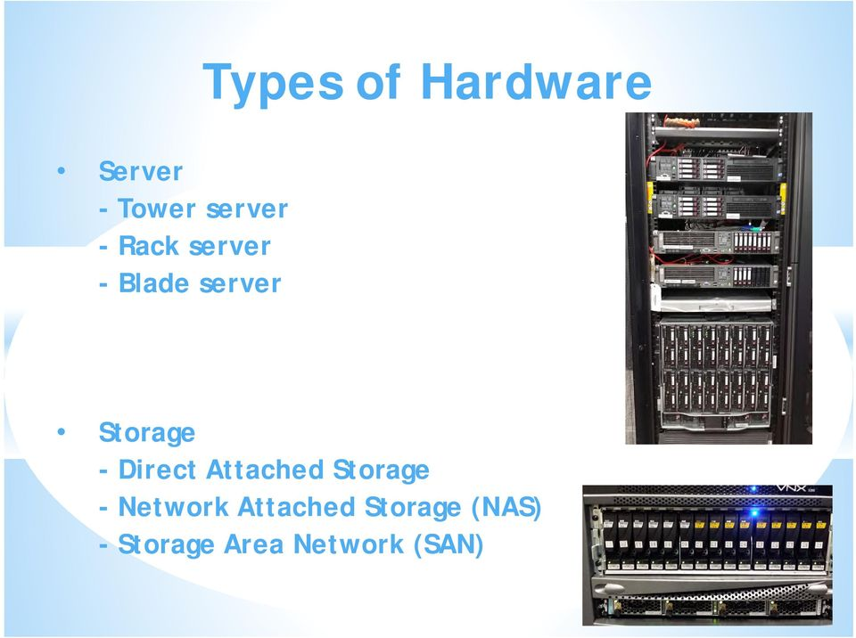 Direct Attached Storage - Network