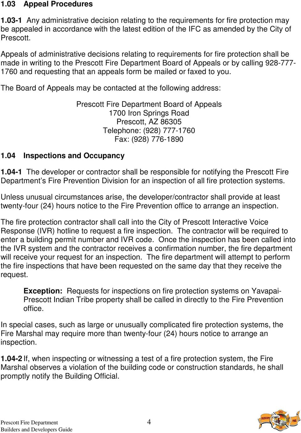 Fire Proection Guidelines Pdf