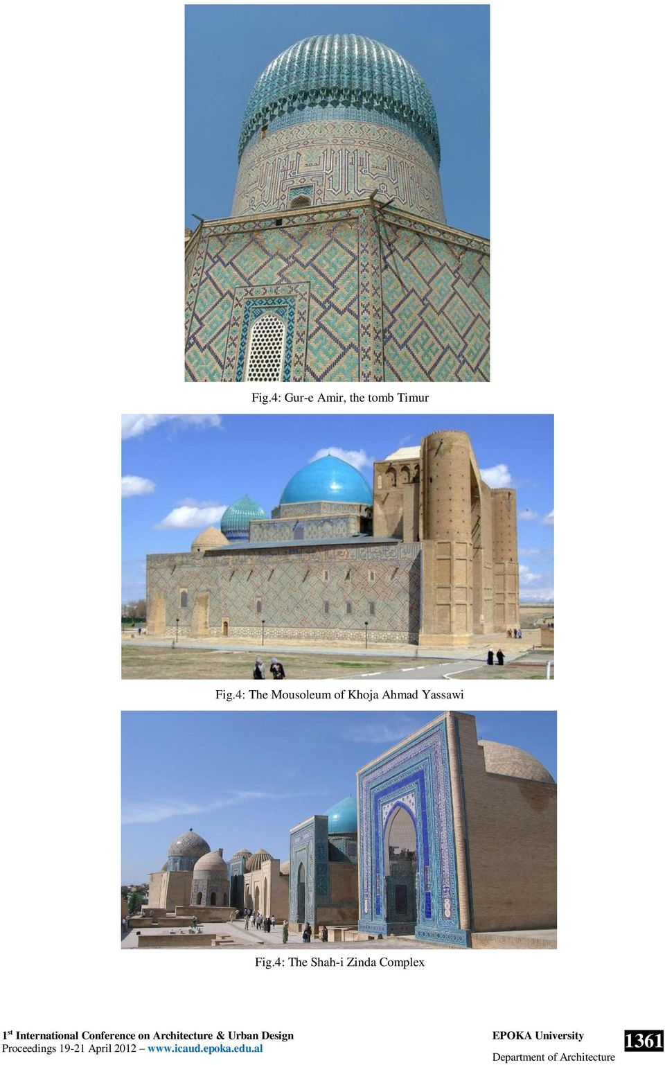 4: The Mousoleum of Khoja