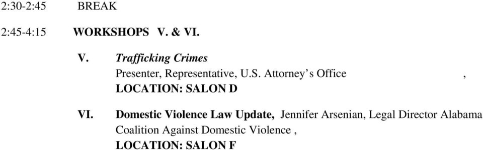 Attorney s Office, LOCATION: SALON D VI.