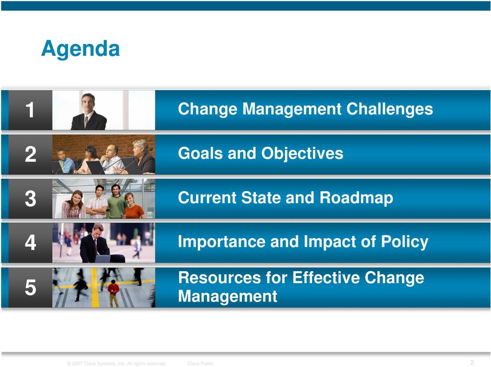 Impact of Policy Resources for Effective Change