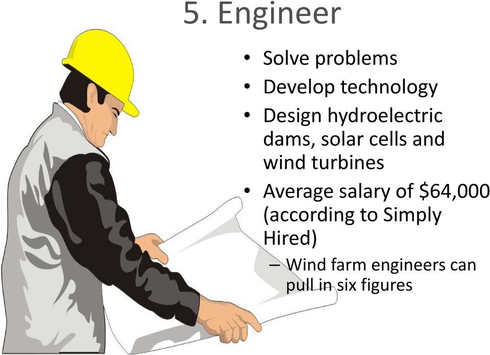 turbines Average salary of $64,000 (according to