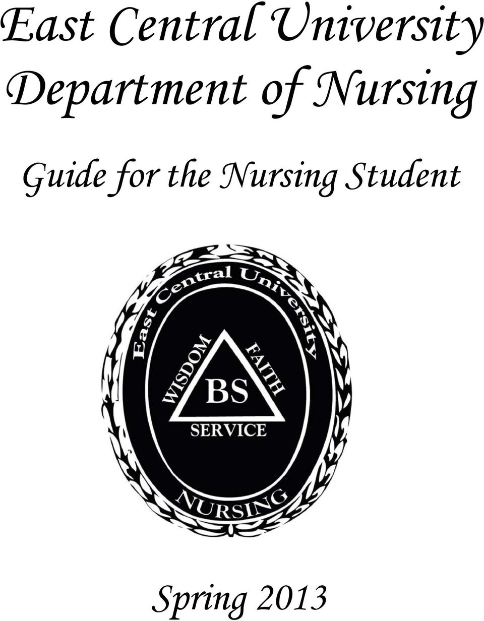 of Nursing Guide for