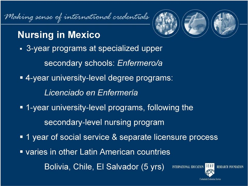 programs, following the secondary-level nursing program 1 year of social service &