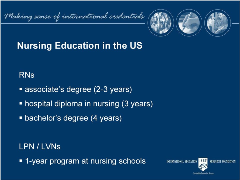 nursing (3 years) bachelor s degree (4