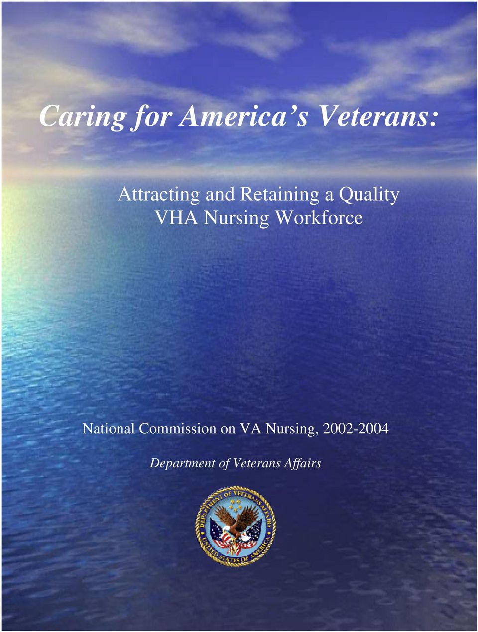 Nursing Workforce National Commission on