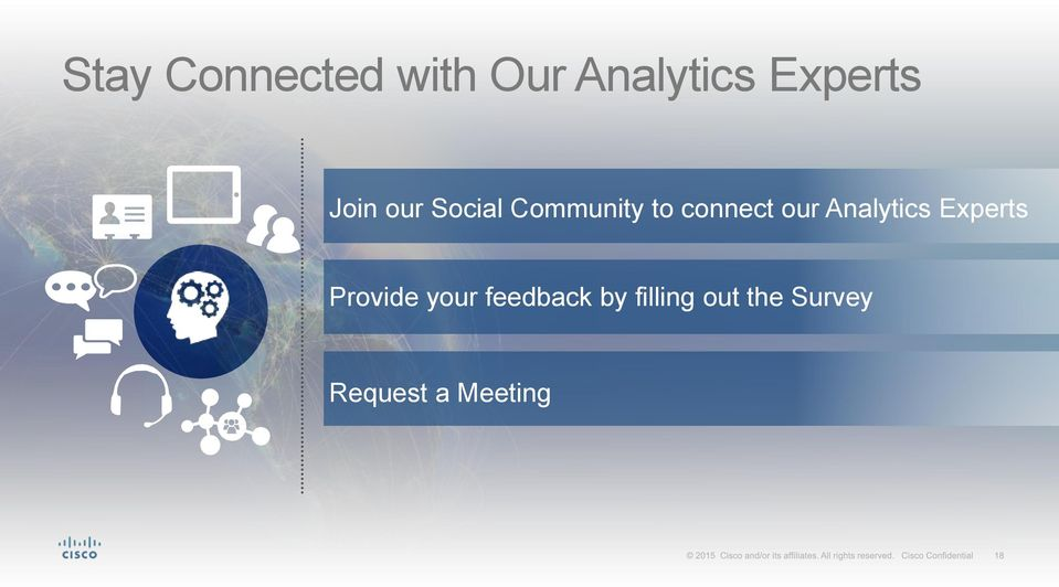 Analytics Experts Provide your feedback