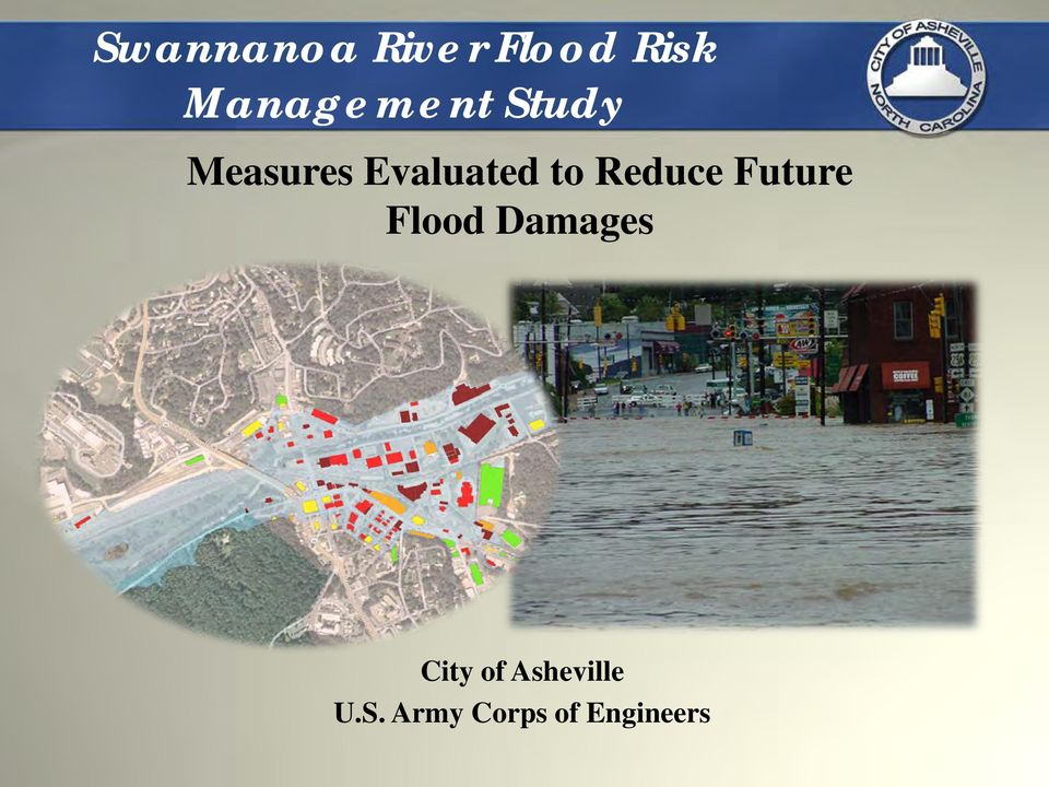 Evaluated to Reduce Future Flood