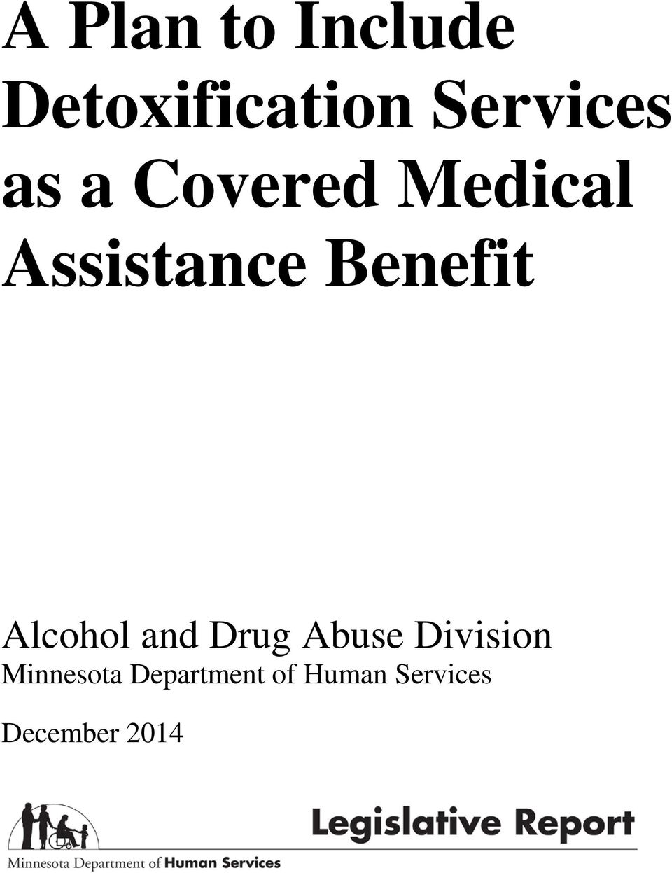 Alcohol and Drug Abuse Division Minnesota