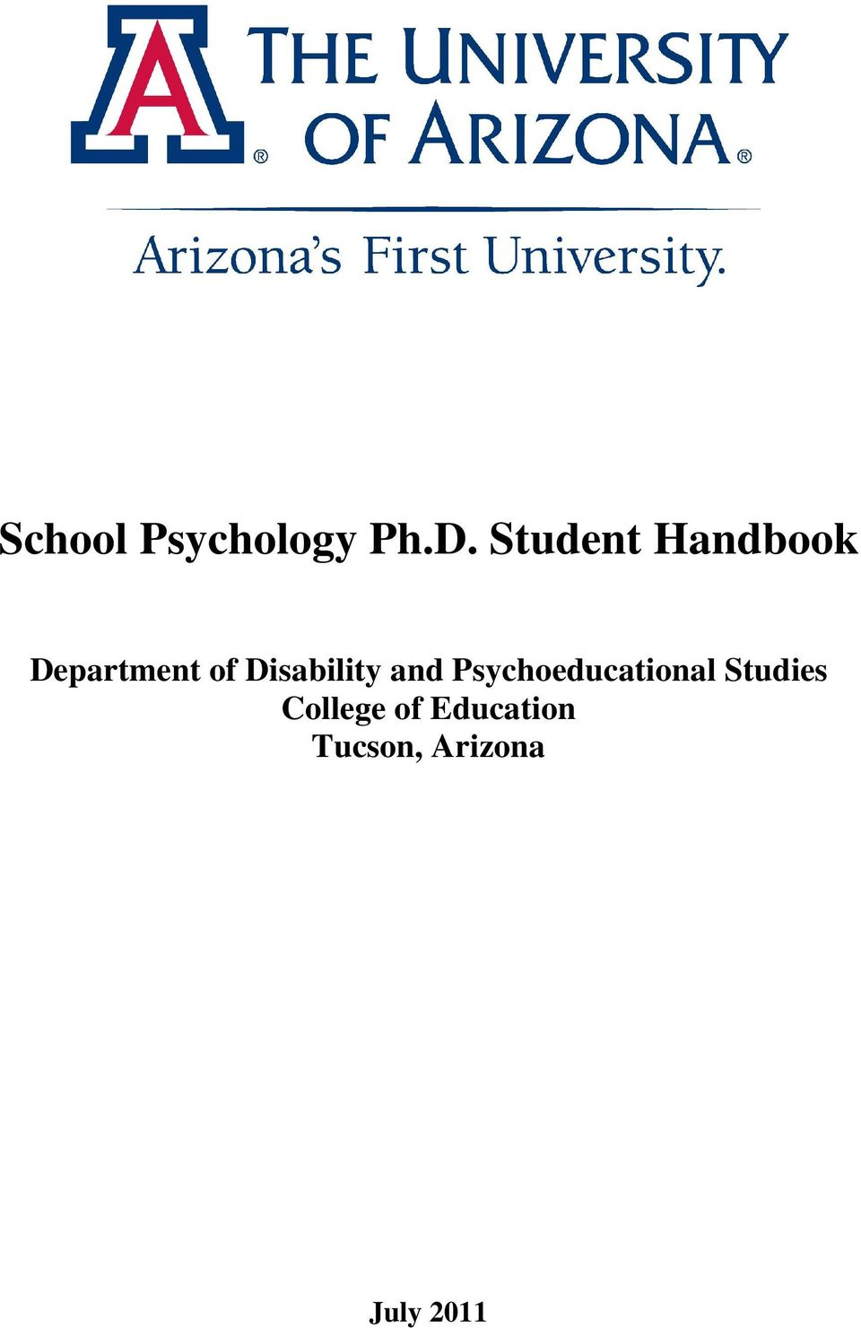 Disability and Psychoeducational