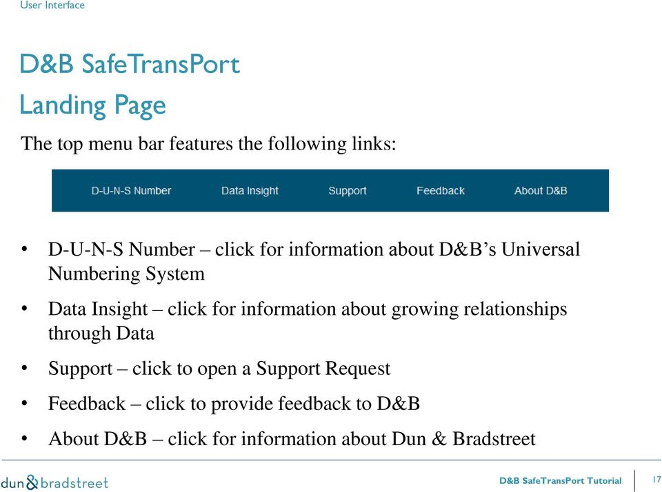 information about growing relationships through Data Support click to open a Support Request