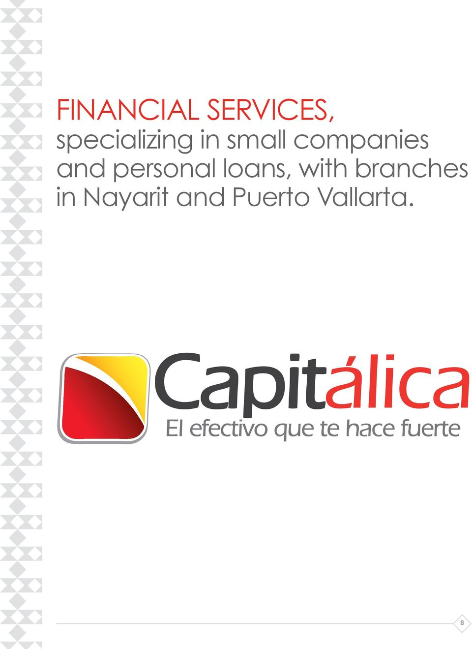 companies and personal loans,