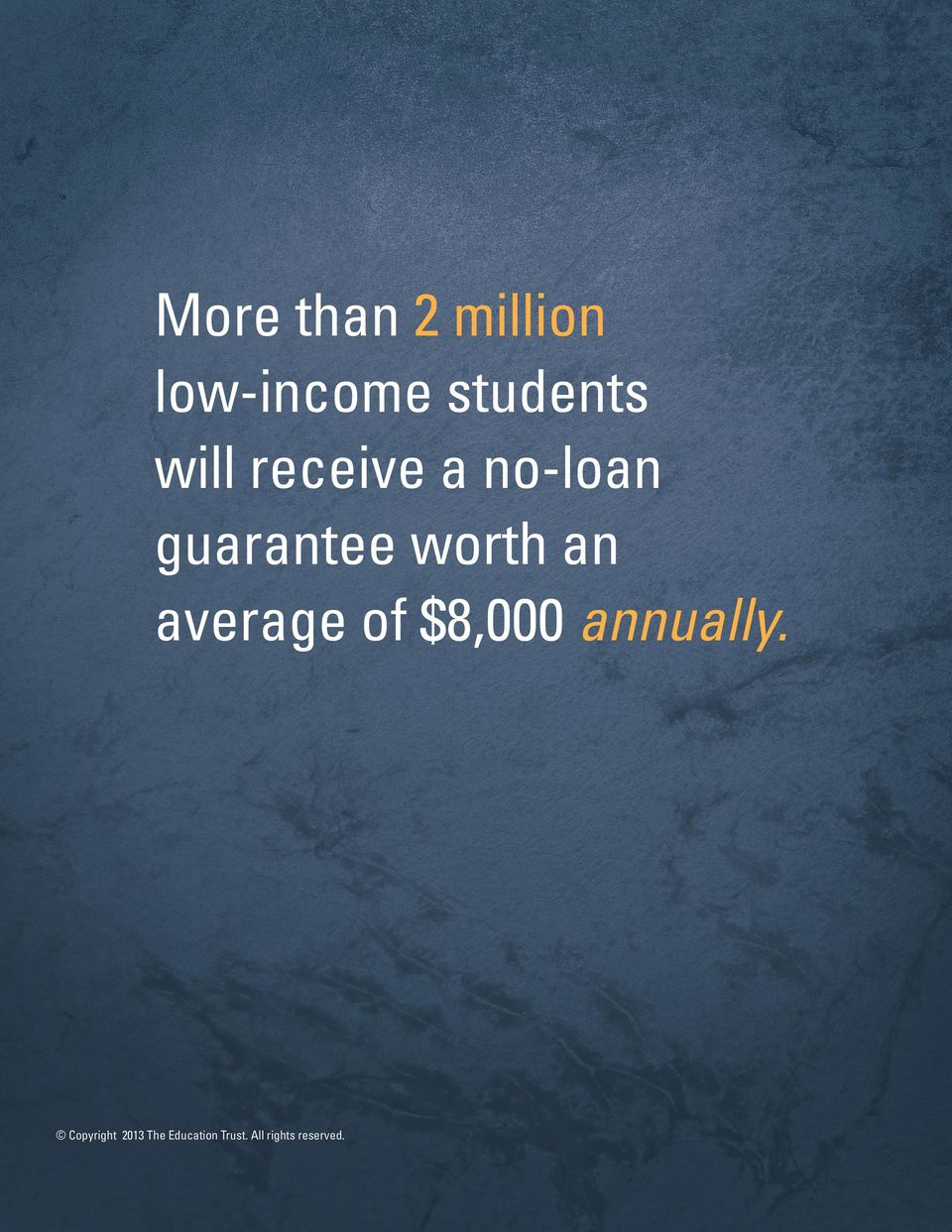 average of $8,000 annually.