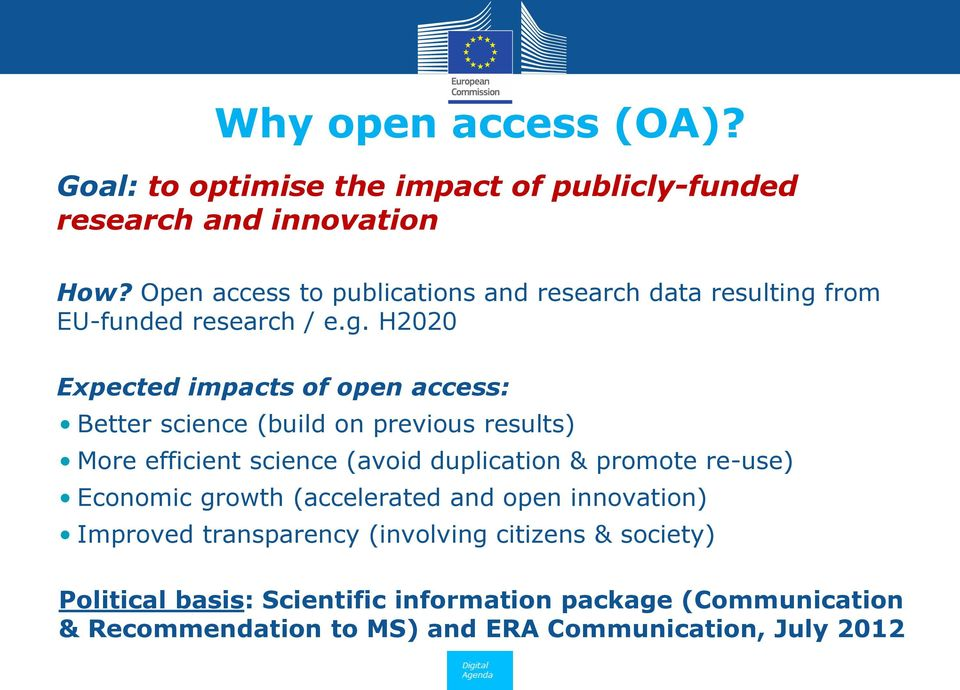 from EU-funded research / e.g.