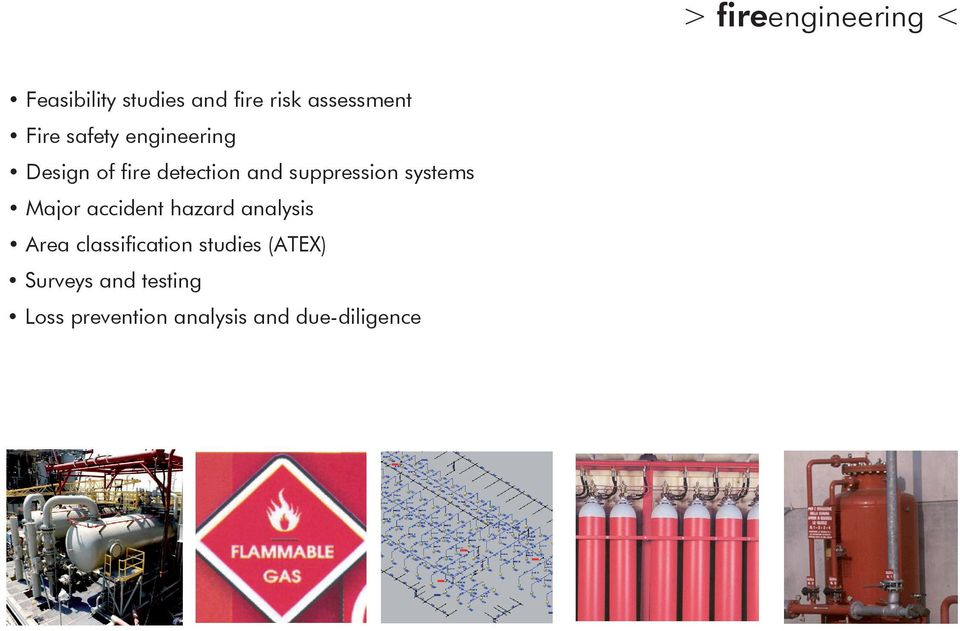 systems Major accident hazard analysis Area classification studies