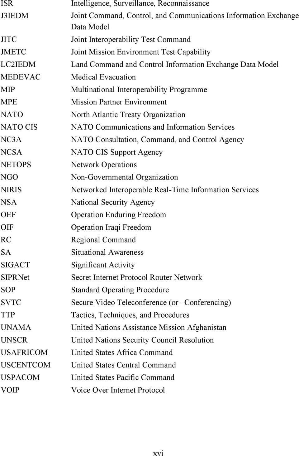 Control Information Exchange Data Model Medical Evacuation Multinational Interoperability Programme Mission Partner Environment North Atlantic Treaty Organization NATO Communications and Information