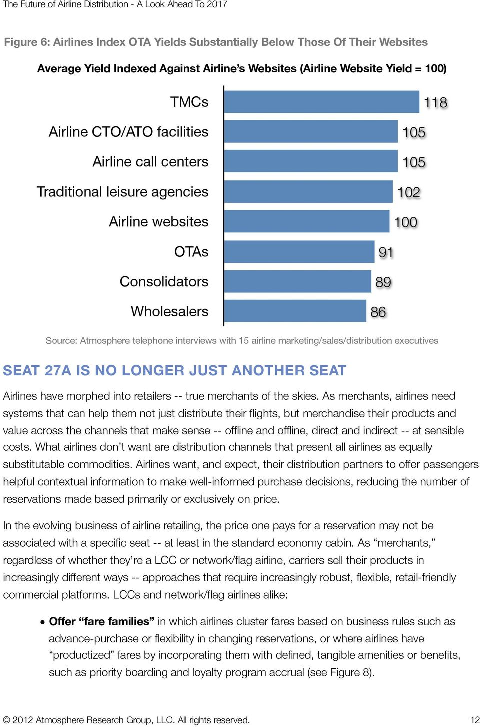 marketing/sales/distribution executives SEAT 27A IS NO LONGER JUST ANOTHER SEAT Airlines have morphed into retailers -- true merchants of the skies.