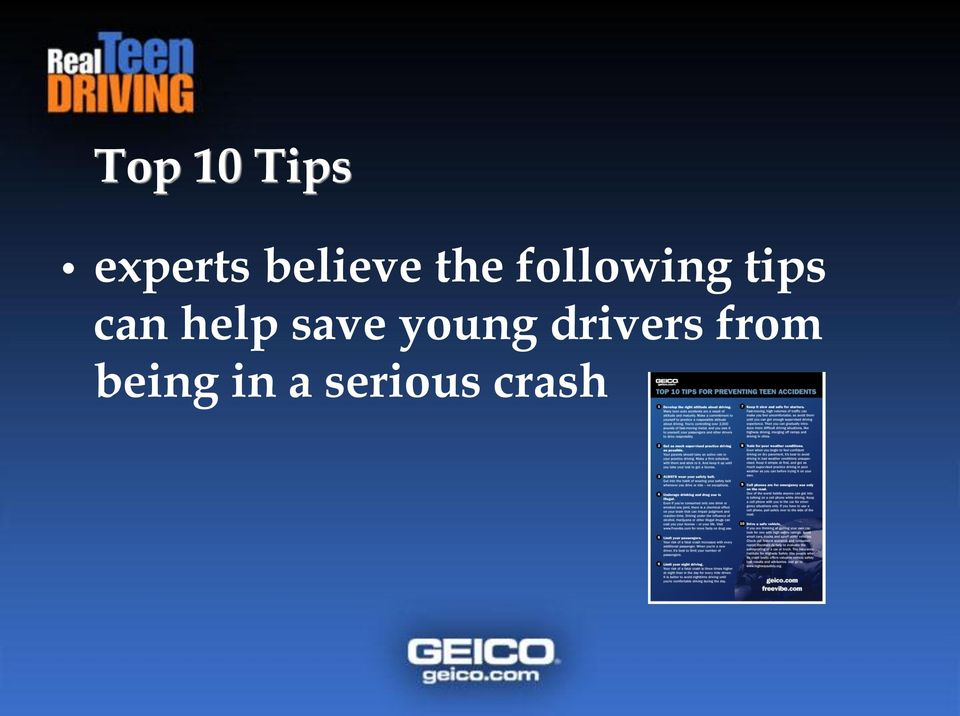 tips can help save young