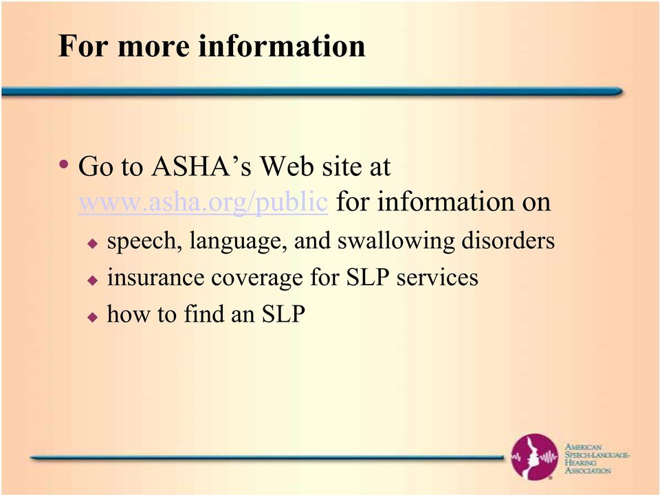 org/public for information on speech,