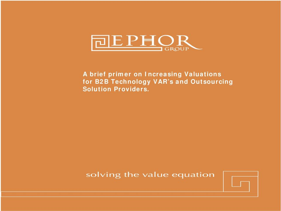 Providers. 2011 Ephor Group 1 (800) 379-9330 www.