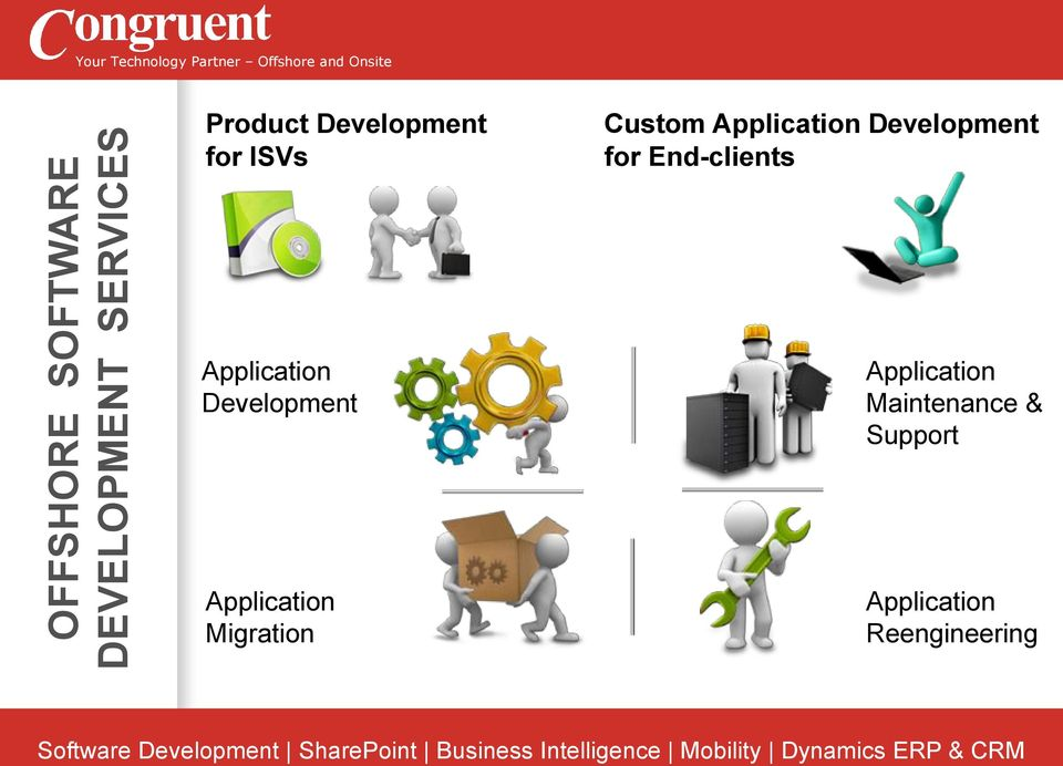 for End-clients Application Development Application