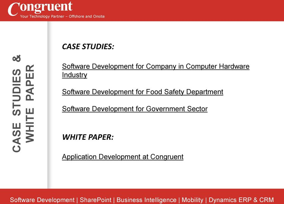 Software Development for Food Safety Department Software