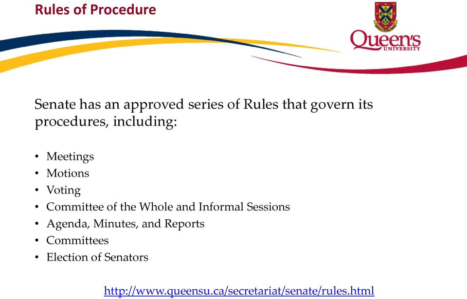 Whole and Informal Sessions Agenda, Minutes, and Reports Committees