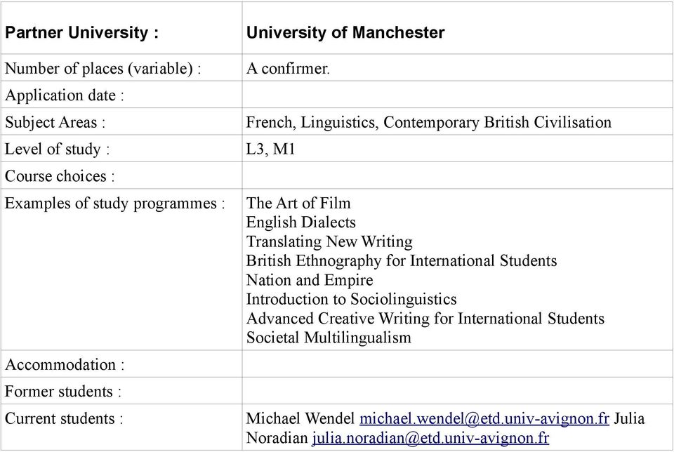 Writing British Ethnography for International Students Nation and Empire Introduction to Sociolinguistics Advanced