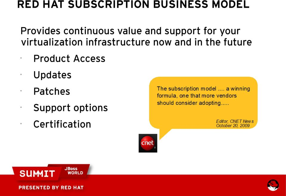 virtualization infrastructure now and in the