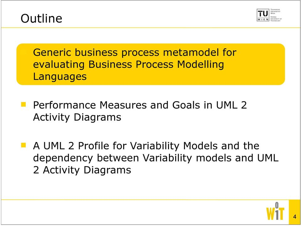 2 Activity Diagrams A UML 2 Profile for Variability Models and the