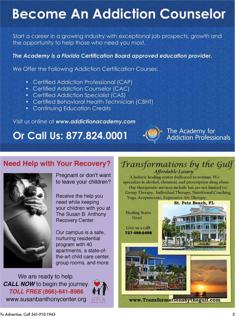 Our campus is a safe, nurturing residential program with 40 apartments, a state-ofthe-art child care center,