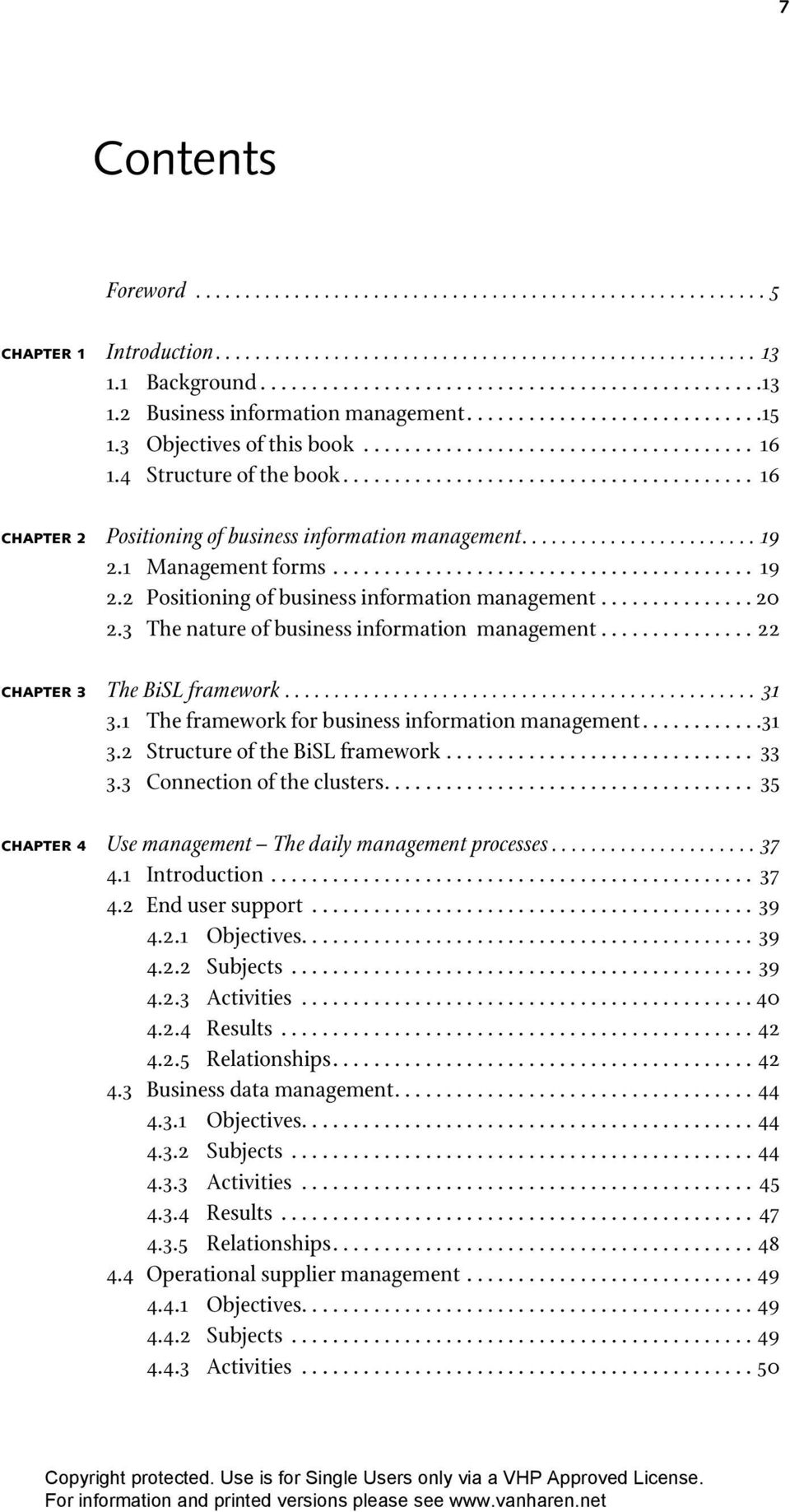 ....................... 19 2.1 Management forms......................................... 19 2.2 Positioning of business information management............... 20 2.