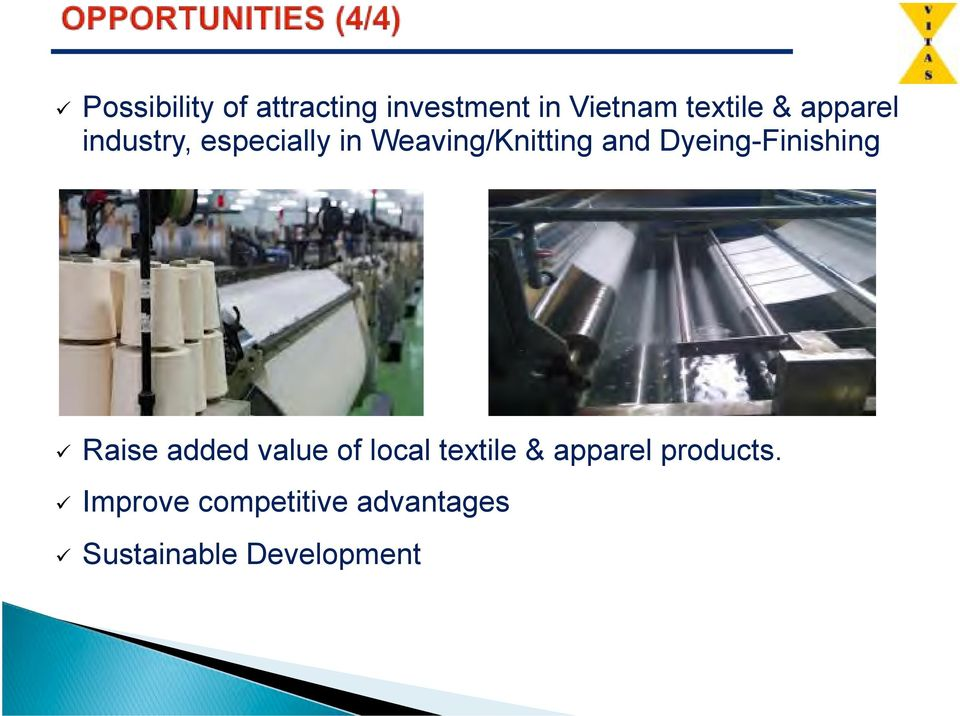 Dyeing-Finishing # Raise added value of local textile &