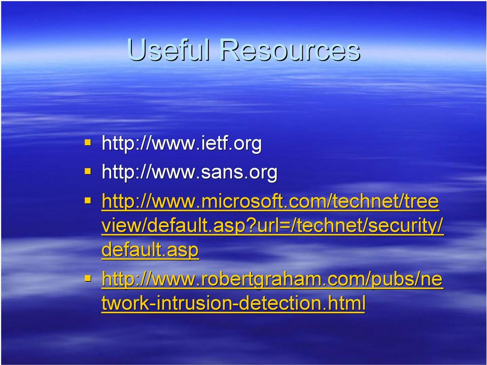 asp?url=/technet/security/ default.asp http://www.