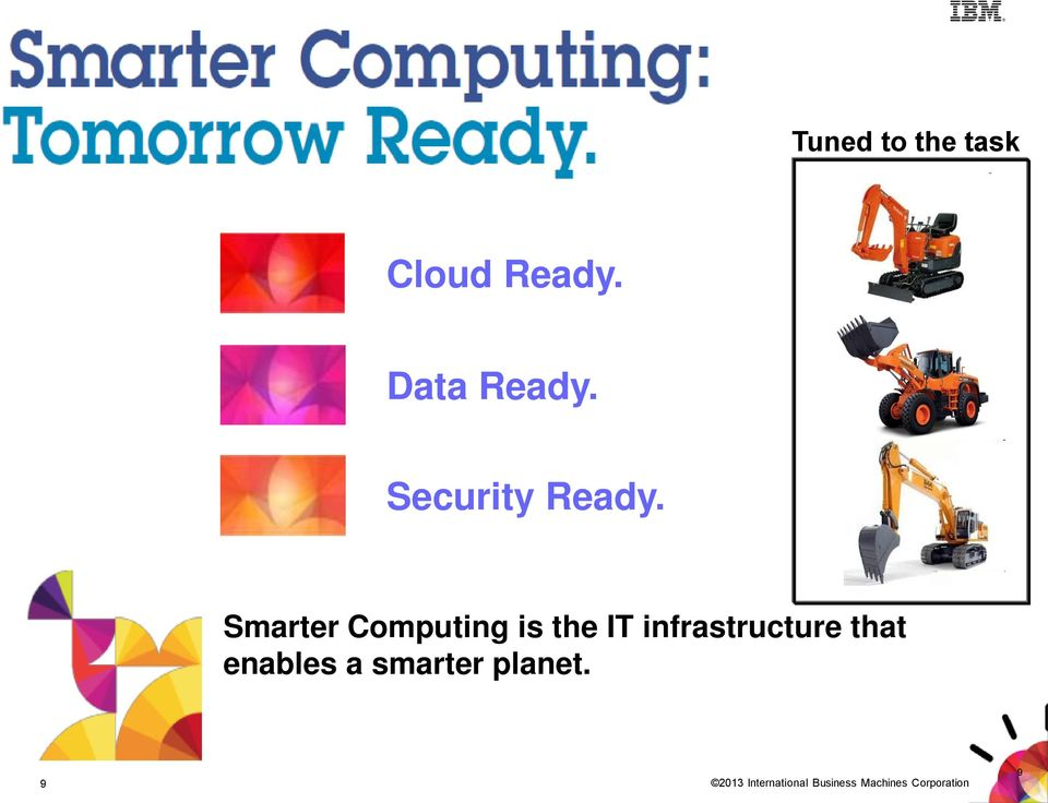 Smarter Computing is the IT infrastructure
