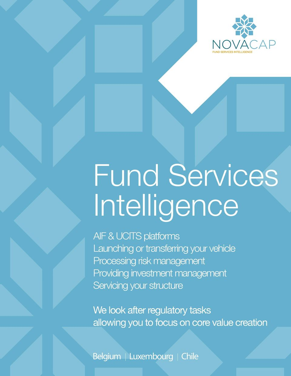 investment management Servicing your structure We look after