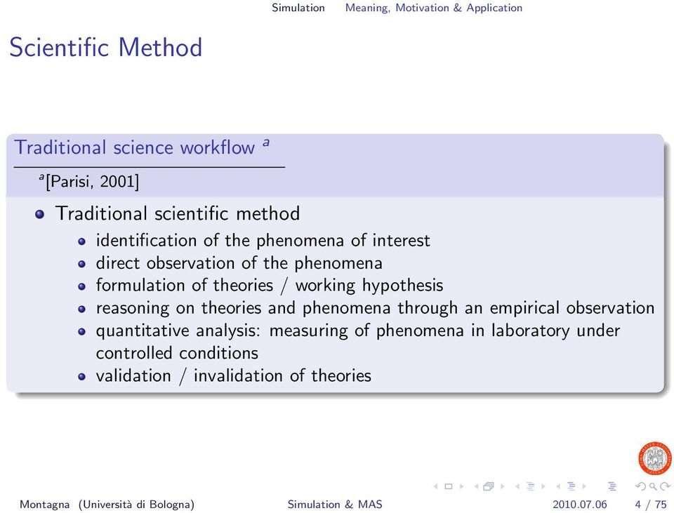 hypothesis reasoning on theories and phenomena through an empirical observation quantitative analysis: measuring of phenomena in