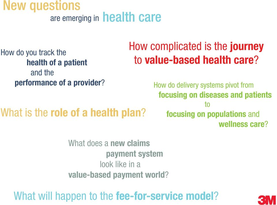 What does a new claims payment system look like in a value-based payment world?