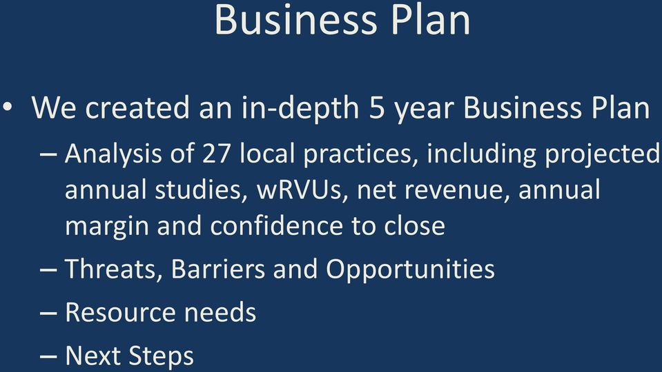 studies, wrvus, net revenue, annual margin and confidence to