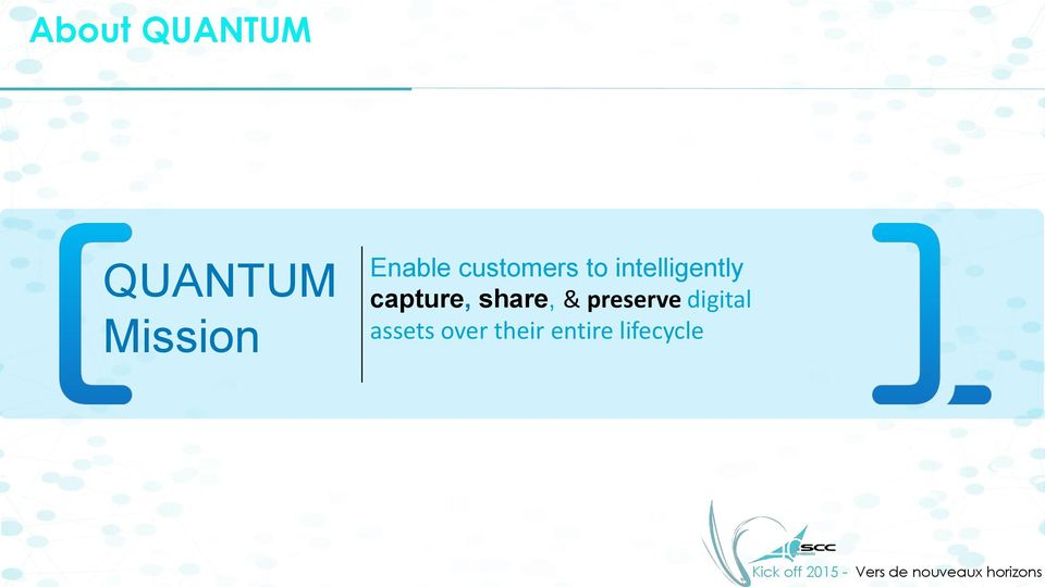 capture, share, & preserve