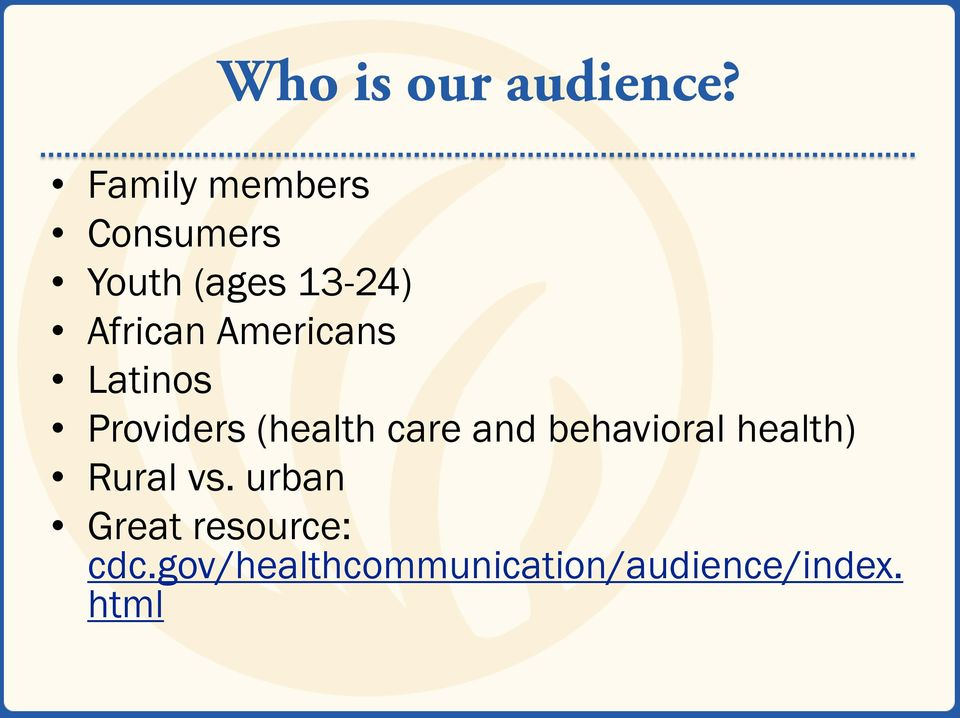 Americans Latinos Providers (health care and