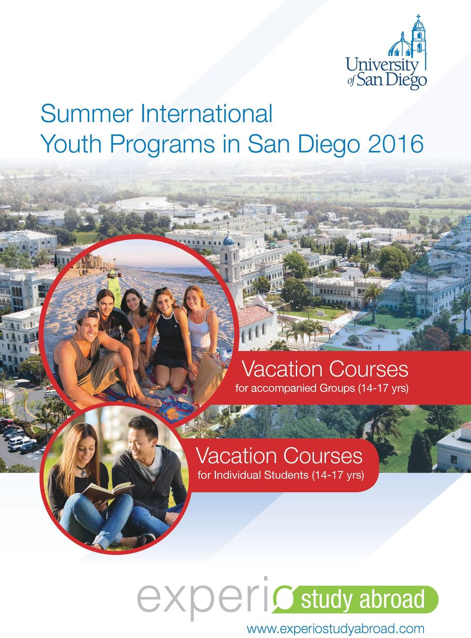 Groups (14-17 yrs) Vacation Courses for