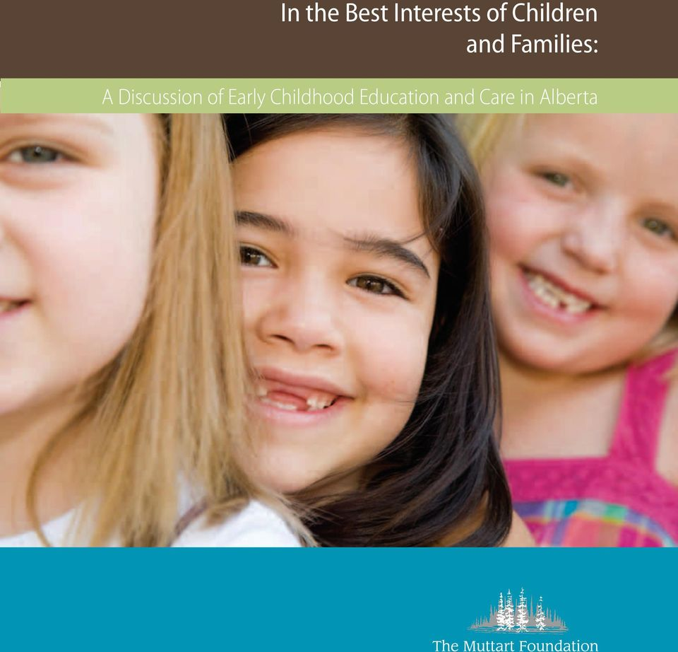 Discussion of Early Childhood