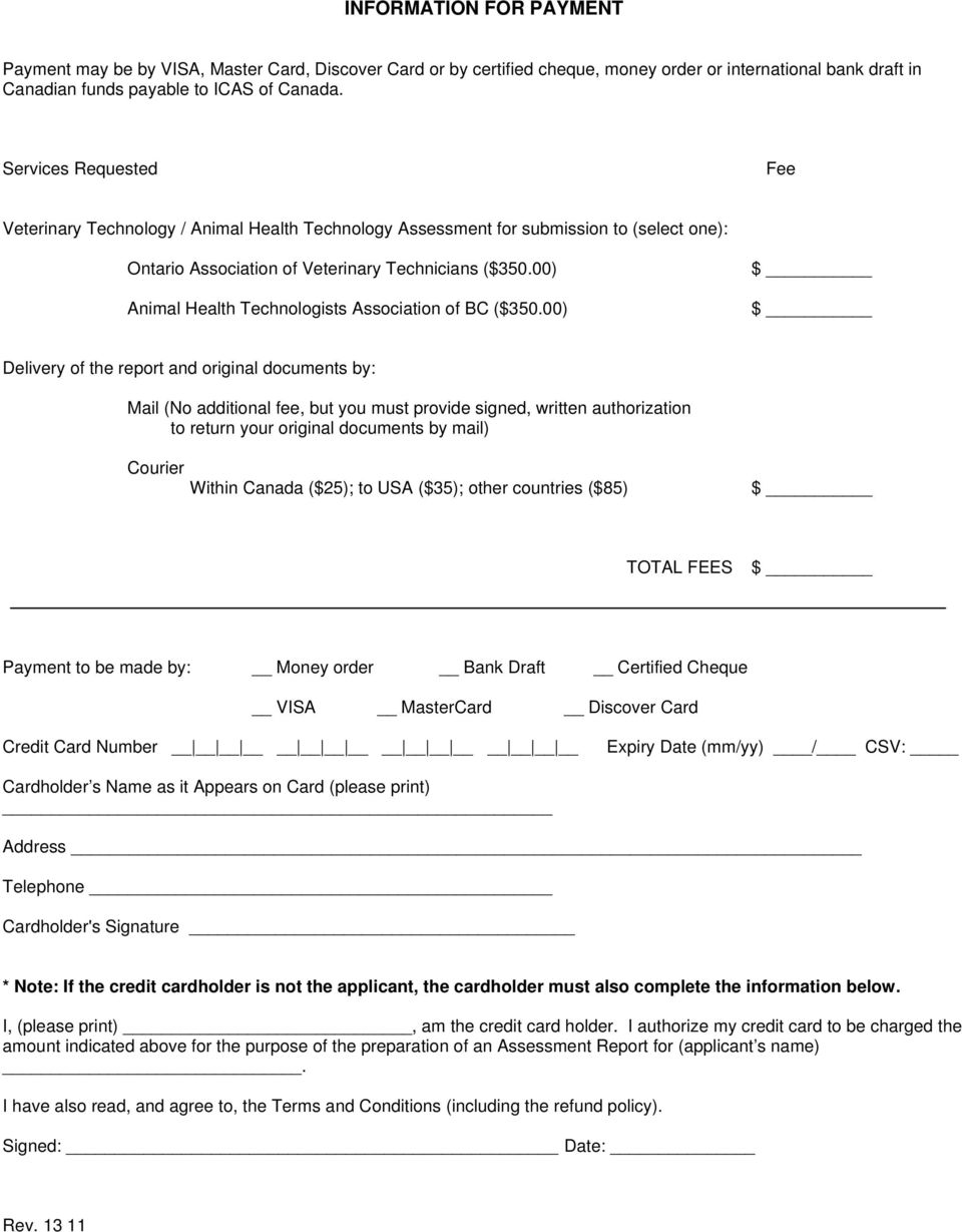 00) Animal Health Technologists Association of BC ($350.