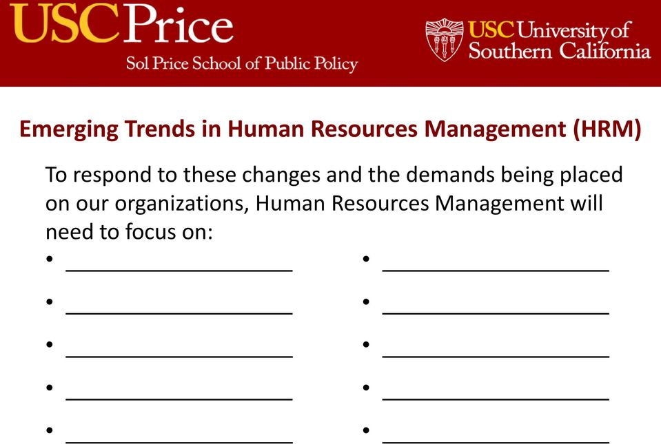 organizations, Human Resources