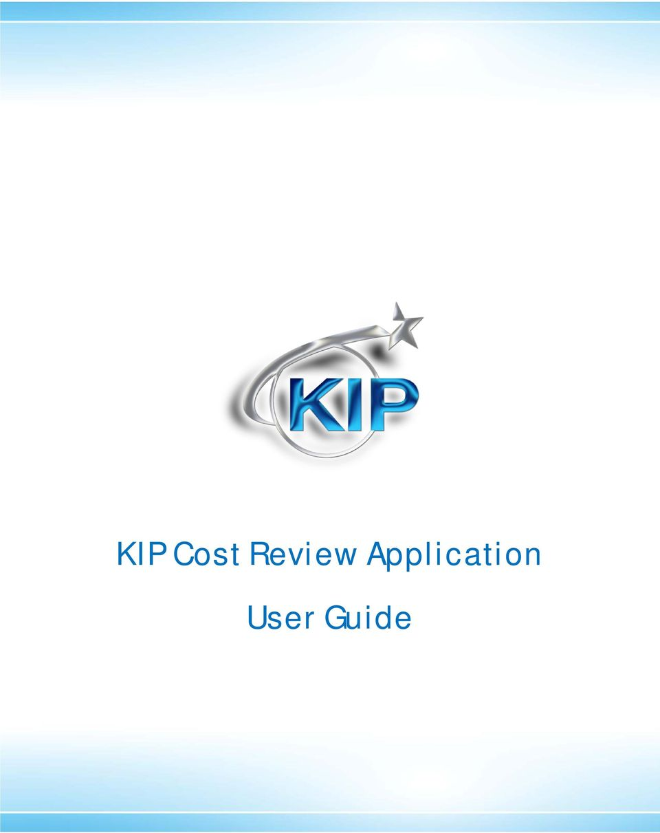 KIP Cost Review