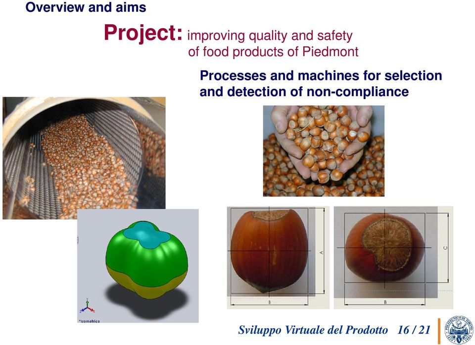 machines for selection and detection of