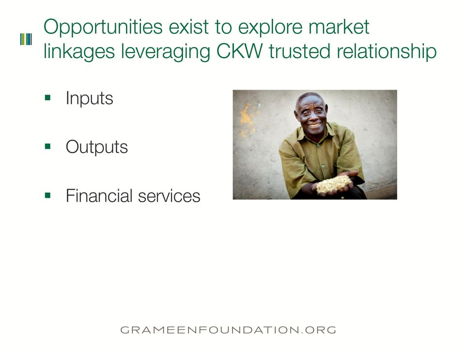 leveraging CKW trusted