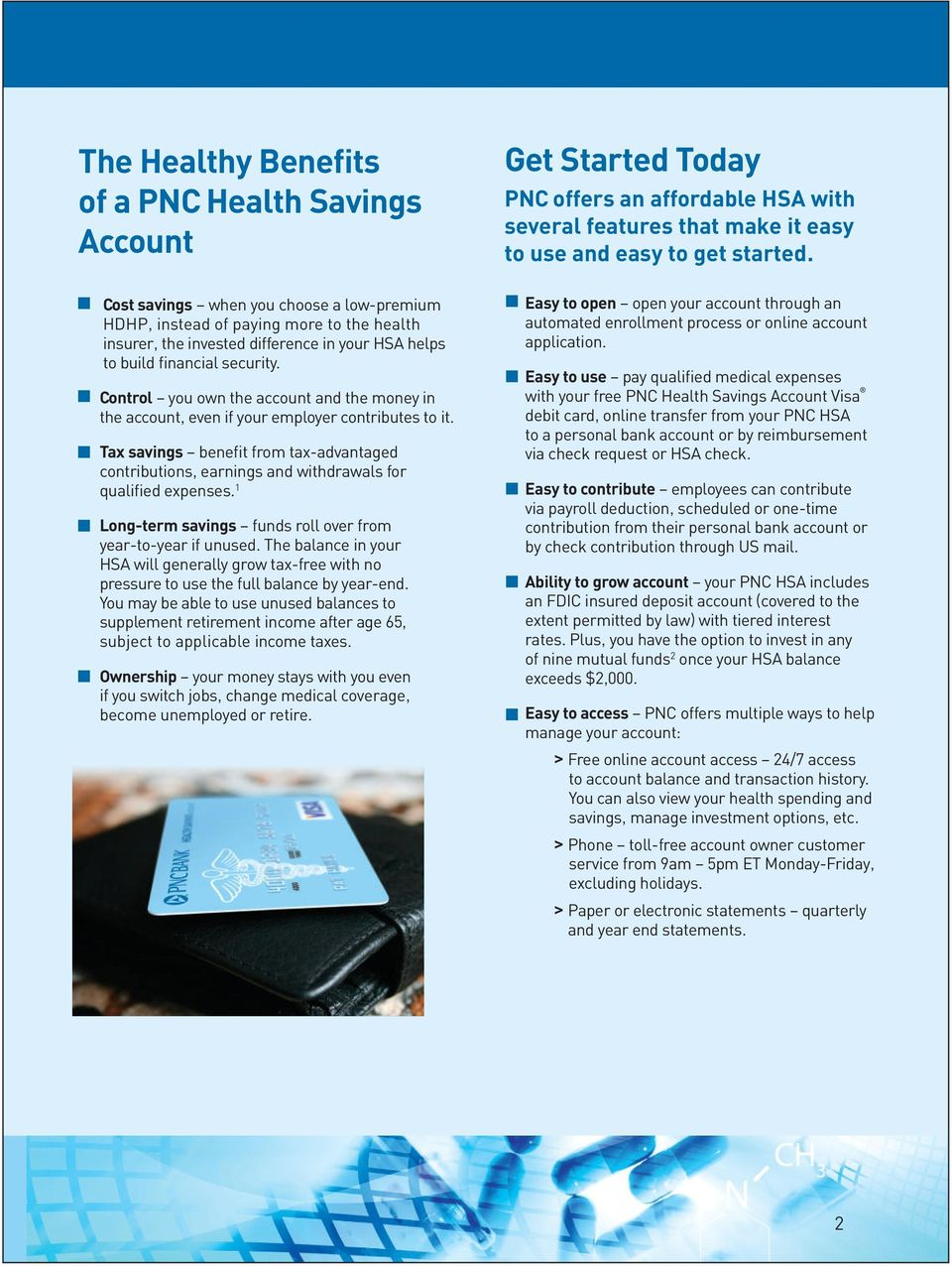 how to close a pnc savings account