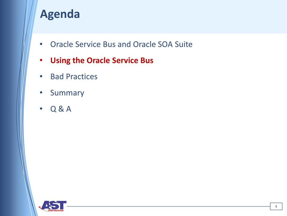 the Oracle Service Bus Bad